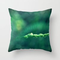 alone Throw Pillows featuring Alone by Arevik Martirosyan