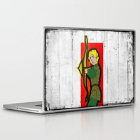 dungeons and dragons Laptop & iPad Skins featuring DUNGEONS & DRAGONS - HANK by Zorio