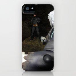 THE BAT VS THE DEAD MAN iPhone Case