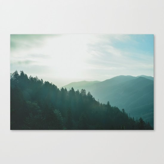 wander forever Canvas Print