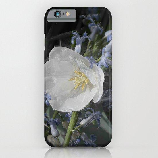 White Tulip iPhone & iPod Case