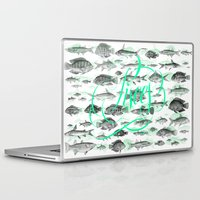 pisces Laptop & iPad Skins featuring Pisces by Sergi Ferrando