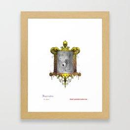 Misperception - no background Framed Art Print