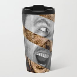 "Leonardo da Vinci's ""Head for The Battle of Anghiari"" & Jack Nicholson in Shining Travel Mug"