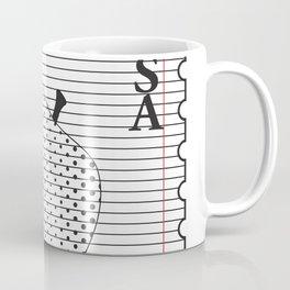 Apple to Paper Coffee Mug