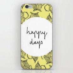 Happiest of Days iPhone & iPod Skin