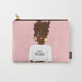 LEGALIZE MELANIN (V) Carry-All Pouch