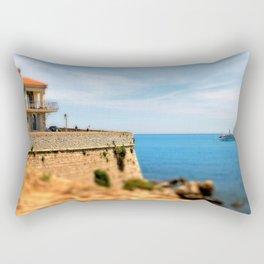 Old Town Antibes Yacht Rectangular Pillow