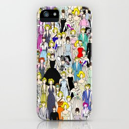 Tokyo Punks Two iPhone Case