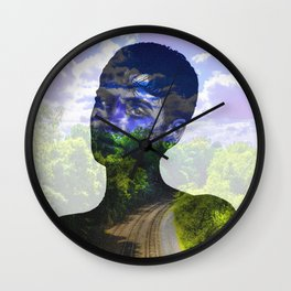 SweetSexySavage Wall Clock