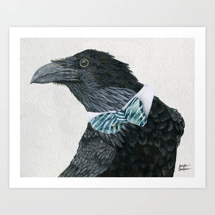 Raven Croft Art Print