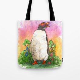 Mr. Penguin is Chillin Tote Bag