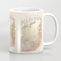 parks and rec Mugs featuring Adventure National Parks by Taylor Rose