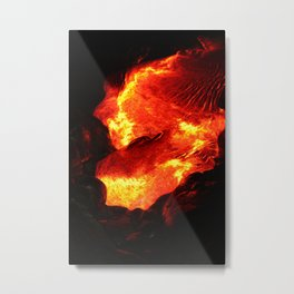 Lava Passion Metal Print