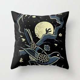 wind up bird chronicle - murakami Throw Pillow