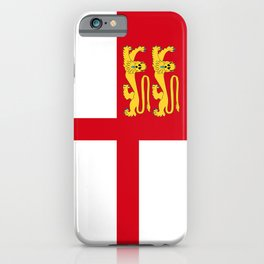 Bailiwick of Guernsey part sark island flag symbol iPhone Case