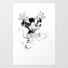Hail to the Rat Art Print