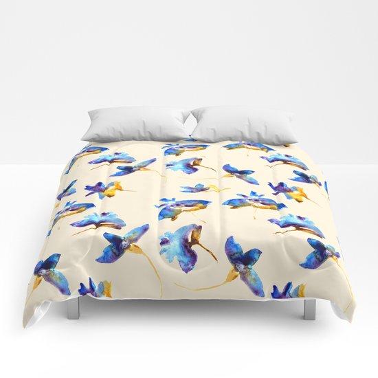 Fancy flowers Comforters