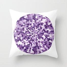 Violet Portal Throw Pillow