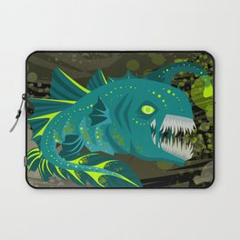 deep abyss light fish Laptop Sleeve