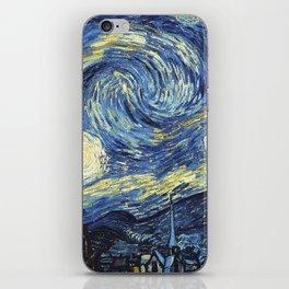 Van Gogh Starry Night iPhone Skin