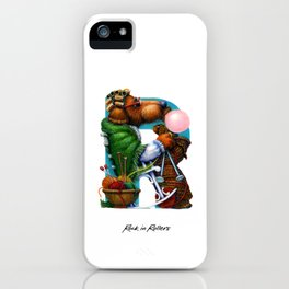 Rock in Rollers iPhone Case