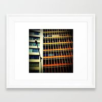 cities Framed Art Prints featuring cities by Monica March