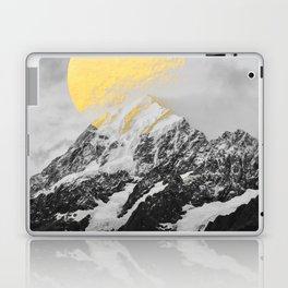 Moon dust mountains Laptop & iPad Skin