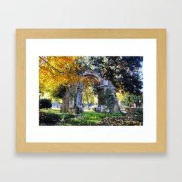 Spanish Reality Framed Art Print