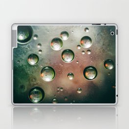 Organic Silver Oil Bubble Abstract Laptop & iPad Skin