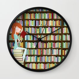 When in doubt, go to the library Wall Clock