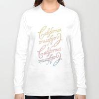 california Long Sleeve T-shirts featuring california by houseofgrays