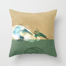 Avatar Korra Throw Pillow