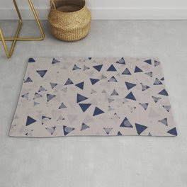 When triangles develop small circles #611 Rug