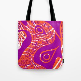 Linocut Print_2 Tote Bag