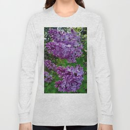 Lilacs in Bloom Long Sleeve T-shirt