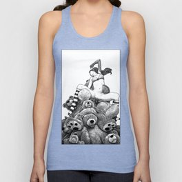 asc 606 - La récolte du miel (The vixen and the bears) Unisex Tank Top