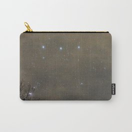 Orion peaking through the clouds Carry-All Pouch