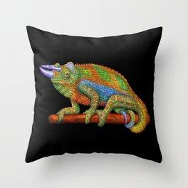 Jackson's Chameleon Throw Pillow