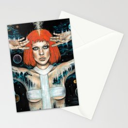 Leeloo Dallas Stationery Cards