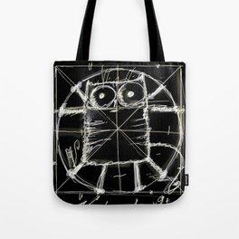 Kot da Vinci (black) Tote Bag