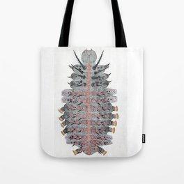 caterpillar of Indian fritillary Tote Bag
