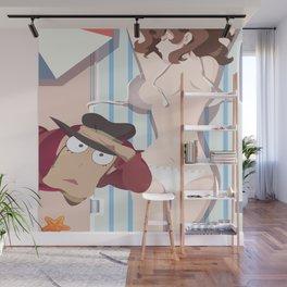 Fujiko Mine - Lupin the Third Kawaii Summer Wall Mural