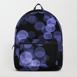 Black purple light background Backpack