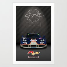 1995 McLaren F1 GTR Le Mans - Gulf Livery Art Print