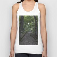 italian Tank Tops featuring Italian forest by F130284