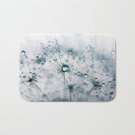dandelion blue Bath Mat