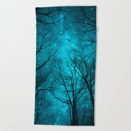 Stars Can't Shine Without Darkness Beach Towel