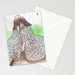 Empire of Mushrooms: Phallus indusiatus Stationery Cards