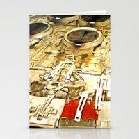 millenium falcon Stationery Cards featuring Millenium Falcon Body by Ewan Arnolda